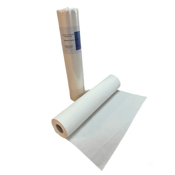 double paper medical roll