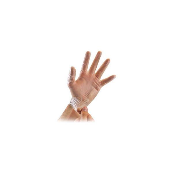 Γάντια μιας Χρήσεως Βινυλίου Πουδραρισμένα / Μη Πουδραρισμένα 100 Τεμαχίων Μεγέθη S , M, L , XL