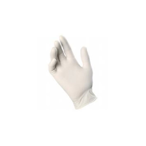 Examination Latex Gloves Powdered / Non Powdered 100 Pieces Size S , M, L , XL