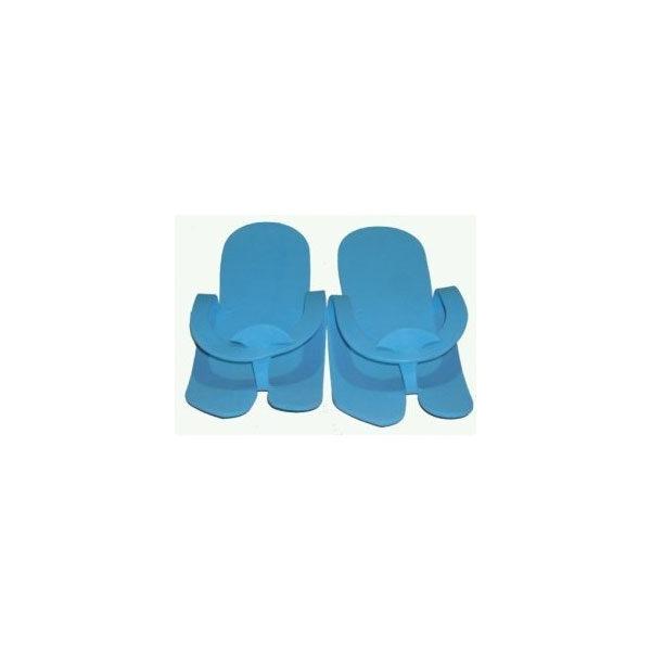 Παντόφλες μιας Χρήσης Eva Foam 12 Ζεύγη / Συσκευασία.