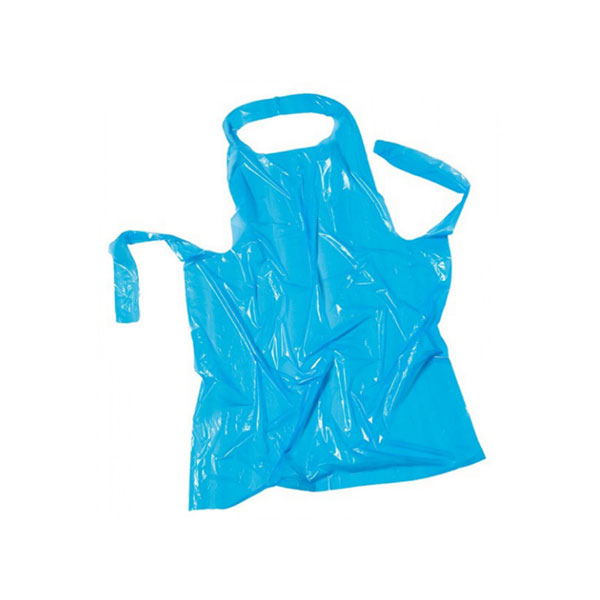 Πλαστική Ποδιά μιας Χρήσης Χρωματιστή η Τυπωμένη 80 cm x 125 cm