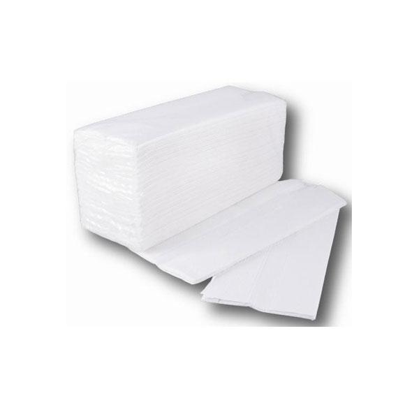 Χειροπετσέτες Α' Λευκές 2 -Φυλλες 3000 Φύλλα